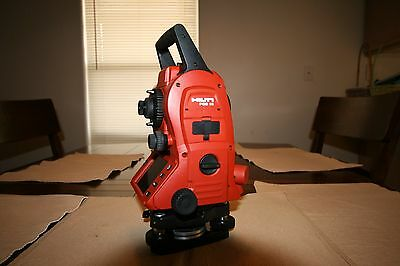 HILTI TOTAL STATION POS 15 CONTRACTOR SURVEY EQUIPMENT- FREE SHIPPING NO RESERV