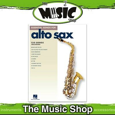 """New """"Essential Songs for Alto Sax"""" Music Book - 130 Songs for Alto Saxophone"""