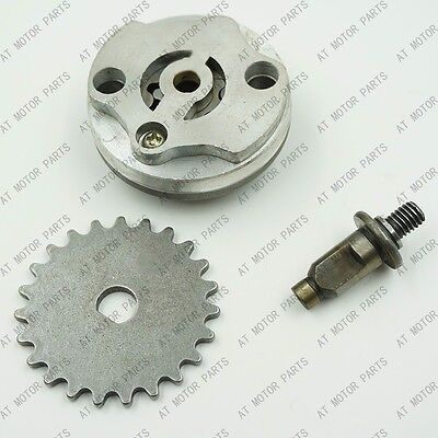 GY6 125cc 150cc Fuel Oil Pump Assy Gear Sprocket for 152QMI 157QMJ Scooter Moped