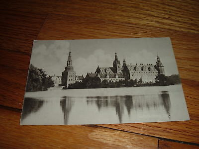 Vintage FREDERIKSBORG SLOT Denmark Danish Postcard NEW Unused Water View RARE
