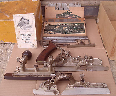 Stanley (SW Sweetheart) No.45 Combination Plane With Cutters