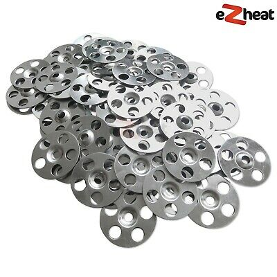 Stainless Steel Washers for Tile Backer Boards – Marmox, Aquapanel, Wedi – 100