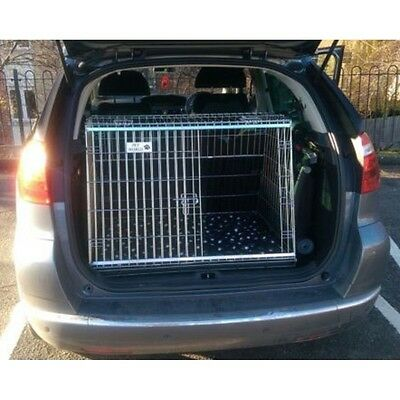 Citroen C4 Picasso 2 Sloping Car Dog Cage Boot Travel Crate Puppy Guard
