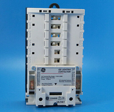 New General Electric CR460B Electrically Held Lighting Contactor Base CR463 GE