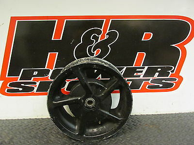 2003 Yamaha Zuma Rear Wheel, Back Wheel, Rear Rim, Black, 03 Zuma 50cc B3054