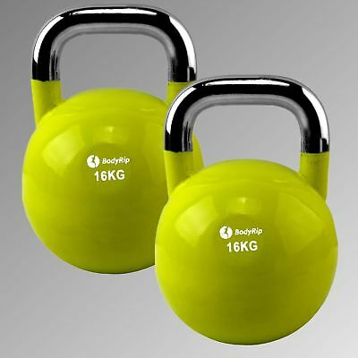 BodyRip 2 x 16KG COMPETITION KETTLEBELL MMA CONDITIONING CROSSFIT BOOTCAMP CORE