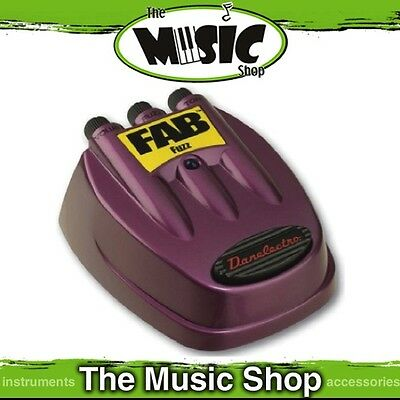 New Danelectro RD7 Fab Series Fuzz Guitar Effects Pedal