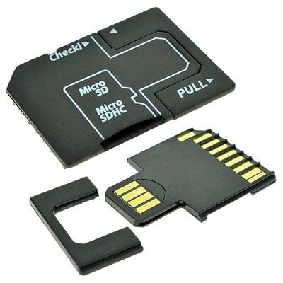 Micro SD TF to SD Memory Card  to USB Flash Disk Adapter Card Adapter for 128GB