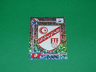 N°481 Tunisie Badge Ecusson Panini Football France 98 1998 Coupe Monde Wm