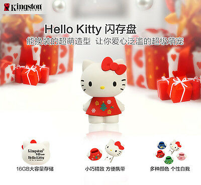 Kingston 16gb USB flash drives Rubber HelloKitty Limited Edition New arrival