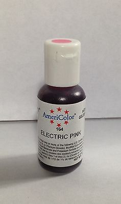 Americolor Gel Paste Food Coloring - Electric Pink