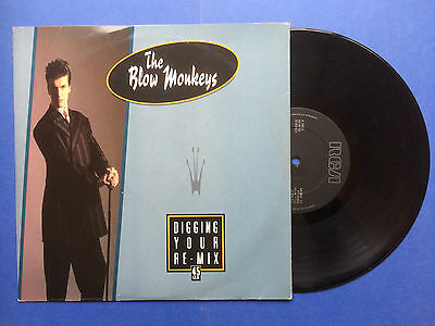 """The Blow Monkeys - Digging Your Scene Re-Mix, RCA MONK-Y1 Ex Condition 10"""""""