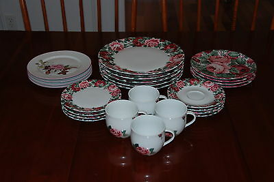 4 - 6 piece place settings Block Spal China, Portugal