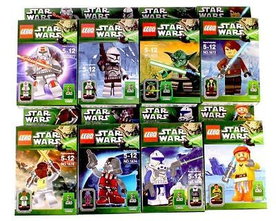Hot Toys Lots of 8 Sets STAR WARS Series Minifigures Building Toys Blocks Toy