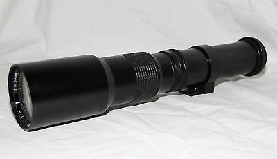 For Canon TOU / Five Star 1:8 500mm Telephoto Lens *