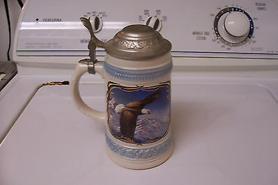 GERZ BEER STEIN RARE DOUBLE EAGLE-7.5 INCHES HIGH
