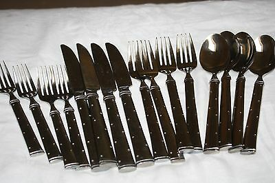 HOME STAINLESS STEEL FLATWARE (20) PCS  SERVICE FOR 4
