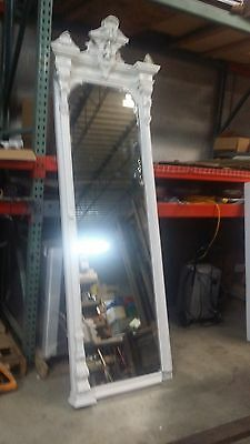 VERY RARE VINTAGE MIRROR, 8.5ft TALL MIRROR LATE 1800S EARLY 1900S