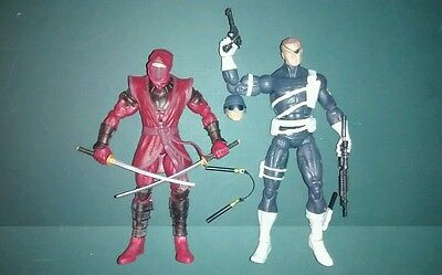 Marvel Legends 2 pack Nick Fury Red Hand Ninja avengers age of ultron