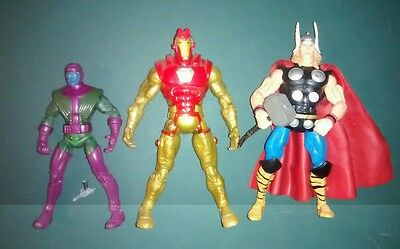 Marvel Legends lot Kang Ironman Thorbuster Thor Avengers Age of Ultron