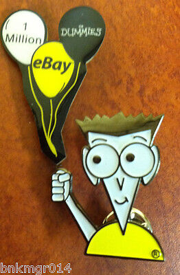 Ebay For Dummies 1 Million Collectors Advertsing Pin
