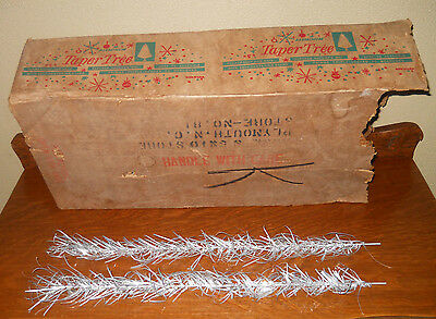 LOT 45 APROX   VINTAGE ALUMINUM TAPER TREE BRANCHES!! NO POLES OR STAND