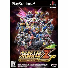 New PS2 Super Robot Taisen Wars Z special disk import