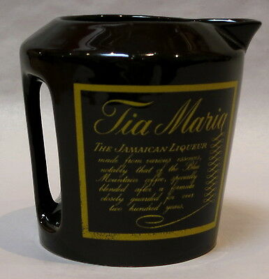 VINTAGE TIA MARIA WADE COLLECTABLE JUG 12cm tall 11cm diameter