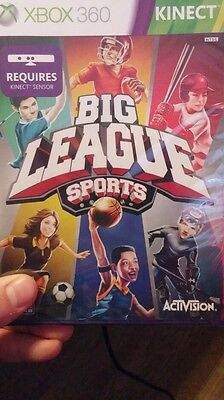 Big League Sports (Xbox 360, 2011) Kinect Brand New & Factory Sealed!