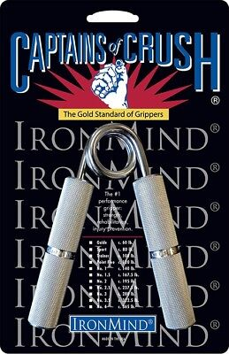Captains of Crush Ironmind Hand Grippers Shipment from the UK & EU VAT included