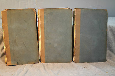 THE FORTUNES OF NIGEL first edition 1822 3 vol set with ads lot antique old rare