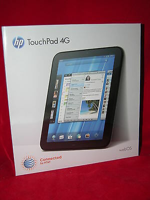 HP TouchPad 32GB 1.5 ghz 4G ATT WiFi with unlocked code and Android KitKat