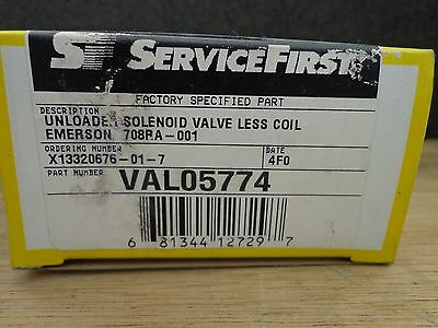 ServiceFirst 708RA-001 Alco Unloader Solenoid Valve Less Coil Emerson VAL05774
