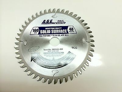Amana AGE Saw Blade Comparable to FESTOOL # 495375  and 160mm track saw blades
