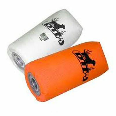 DT Systems Nylon Orange & White Feather Weight Dummys 2 Pk