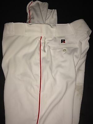Russell Athletic New Mens Baseball Pants Boston Red Sox 36x36