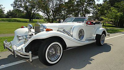 Replica/Kit Makes : EXCALIBUR PHAETON ROADSTER 1984 excalibur phaeton edition with 14 000 miles none nice gorgeous in and out