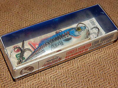 "VINTAGE NEW!, 2003, RATTLIN"" RAPALA, Special COMMEMORATIVE MN. TWINS GANDER MT."