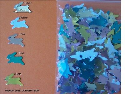 Rabbit Sequins / Table Scatter - Easter / Craft /scrapbooking/ Card Decorating