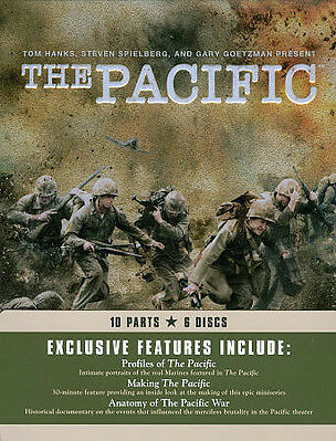 The Pacific (DVD, 2010, 6-Disc Set) Metal Tin Packaging
