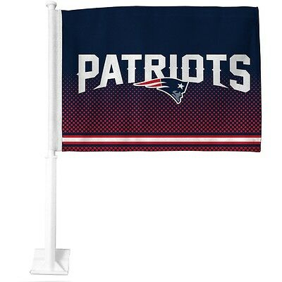 New England Patriots NFL Team Colors 14''x11'' Auto/Home/Office Flag/Banner