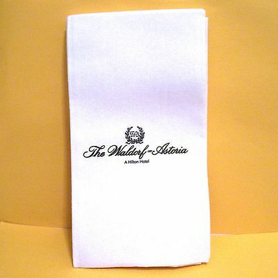 20 WALORF HOTEL  - PAPER  NAPKINS - Thick and large