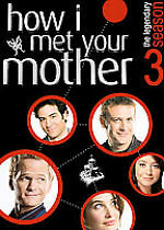 How I Met Your Mother - Season 3 (DVD, 2008, 3-Disc Set, Checkpoint; Sensormatic