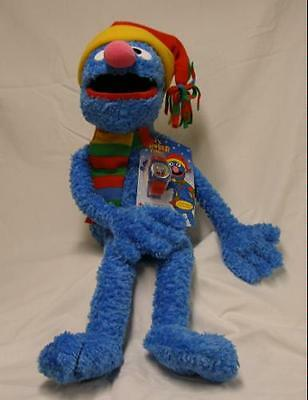 Macy's  Burdines Sesame Street GROVER Plush Stuffed MUPPETS Toy Doll 2004