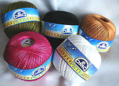 Dmc Petra 3 Mercerised Crochet Cotton 4Ply Knitting Yarn 100G Ball 100% Cotton