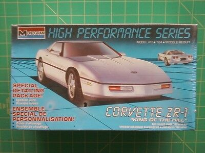 """89 Chevy Corvette ZR-1 """"King of the Hill"""" 1989 High Performance Series F/S USA!"""