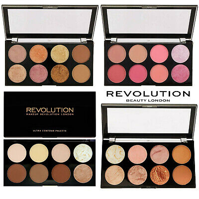 MAKEUP REVOLUTION  Blush Highlight Bronzer Contour Powder Palettes