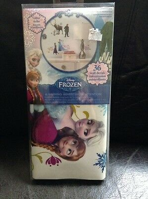 Disney Frozen 25 Wall Decals Olaf Removable Stickers Bedroom Decor