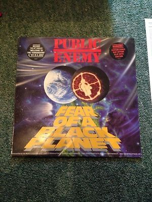 PUBLIC ENEMY - FEAR OF A BLACK PLANET A1 B1 First Press Def Jam Records