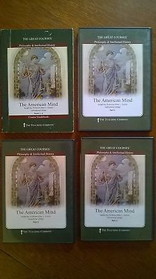 The Teaching Company The American Mind DVDs and Coursebook